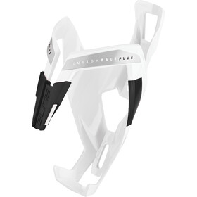 Elite Custom Race Plus Bottle Holder glossy white/black design